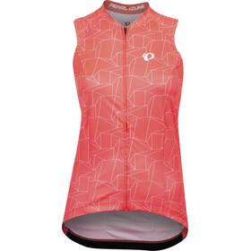 PEARL iZUMi Attack Maillot manches courtes SL Femme, atomic red/white origami